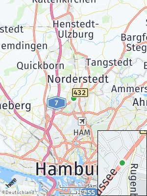 Here Map of Norderstedt