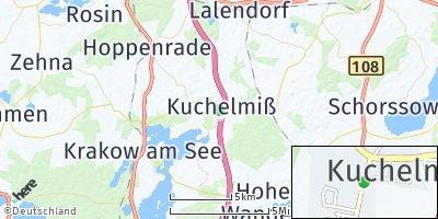 Google Map of Kuchelmiß