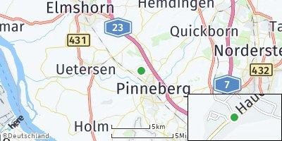 Google Map of Prisdorf