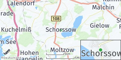 Google Map of Schorssow