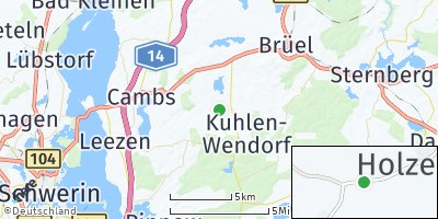Google Map of Kuhlen-Wendorf