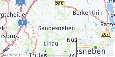 Google Map of Sandesneben