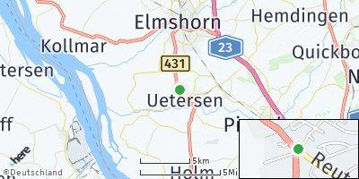 Google Map of Uetersen