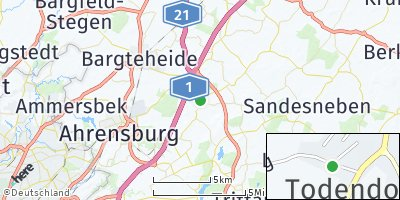 Google Map of Todendorf