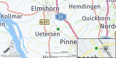 Google Map of Tornesch