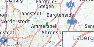 Google Map of Ammersbek