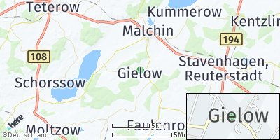 Google Map of Gielow