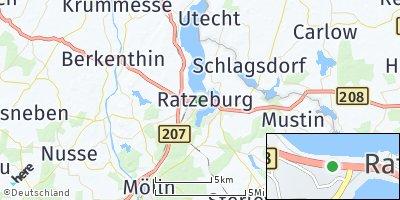 Google Map of Ratzeburg