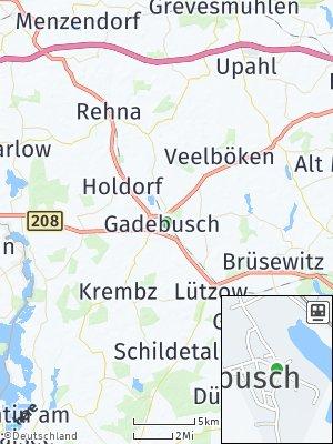 Here Map of Gadebusch