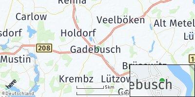 Google Map of Gadebusch