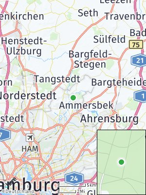 Here Map of Wohldorf-Ohlstedt