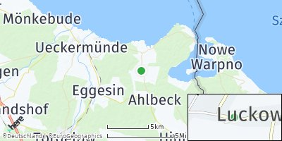 Google Map of Luckow bei Torgelow