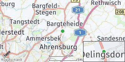 Google Map of Delingsdorf