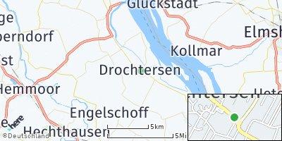 Google Map of Drochtersen