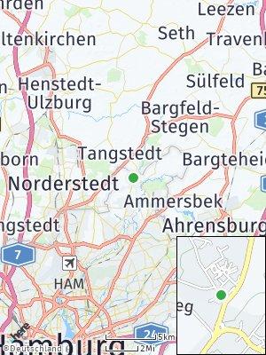 Here Map of Duvenstedt