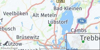 Google Map of Klein Trebbow