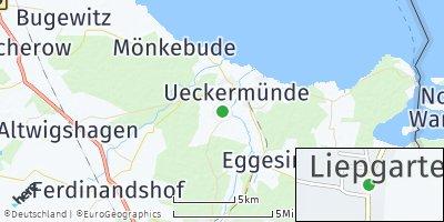 Google Map of Liepgarten