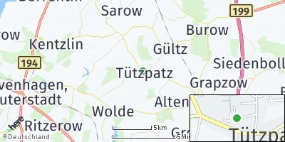 Google Map of Tützpatz