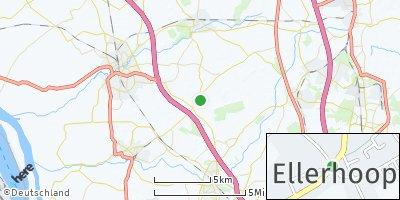 Google Map of Ellerhoop