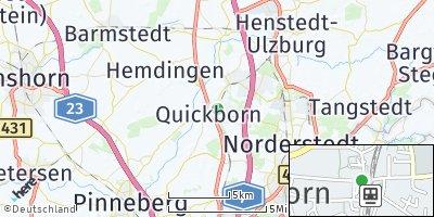 Google Map of Quickborn