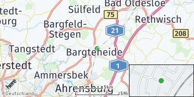 Google Map of Bargteheide