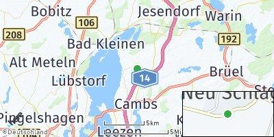 Google Map of Dobin am See