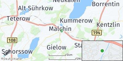 Google Map of Malchin