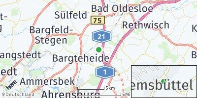 Google Map of Tremsbüttel
