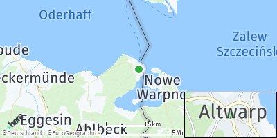 Google Map of Altwarp
