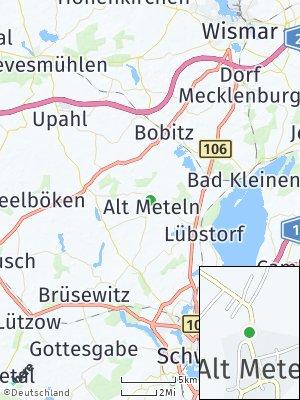 Here Map of Alt Meteln