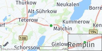 Google Map of Remplin