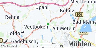 Google Map of Mühlen Eichsen