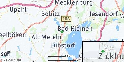 Google Map of Zickhusen