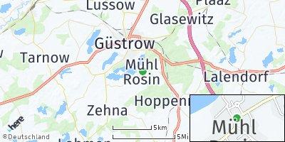 Google Map of Mühl Rosin