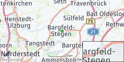 Google Map of Bargfeld-Stegen