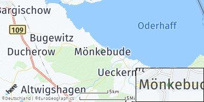 Google Map of Mönkebude
