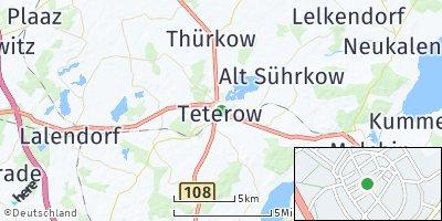 Google Map of Teterow