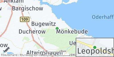 Google Map of Leopoldshagen