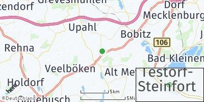 Google Map of Testorf-Steinfort