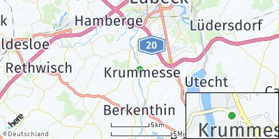 Google Map of Krummesse