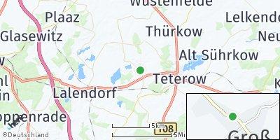 Google Map of Groß Roge