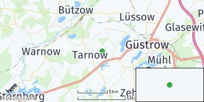Google Map of Gülzow-Prüzen