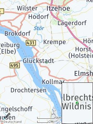 Here Map of Engelbrechtsche Wildnis