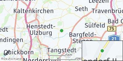 Google Map of Wakendorf