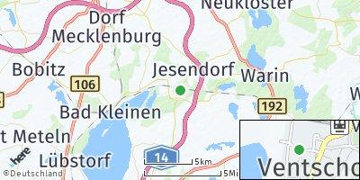 Google Map of Ventschow