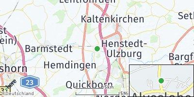 Google Map of Alveslohe