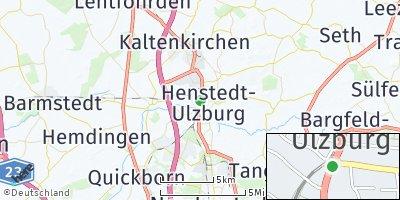 Google Map of Henstedt-Ulzburg