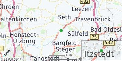 Google Map of Itzstedt