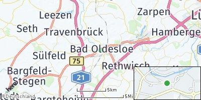 Google Map of Bad Oldesloe