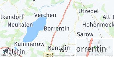 Google Map of Borrentin